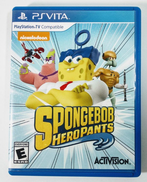Sponge Bob Hero Pants - PS Vita