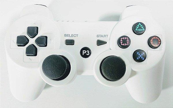 Controle sem fio Branco - PS3
