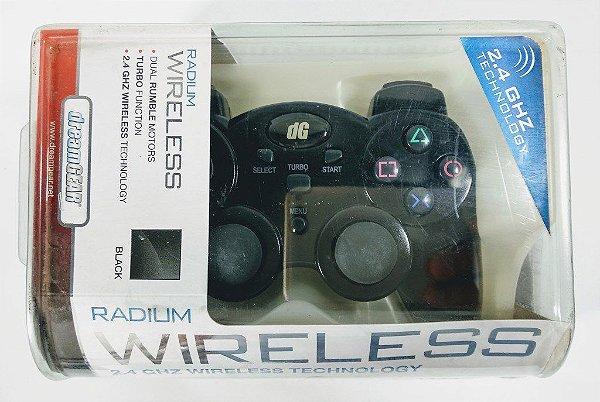 Controle sem fio Radium Dreamgear - PS3