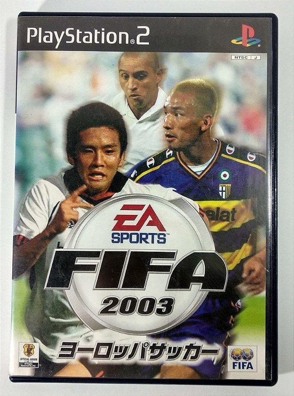 Fifa 2003 Original [JAPONÊS] - PS2