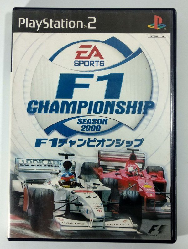 F1 Championship 2000 Original [JAPONÊS] - PS2