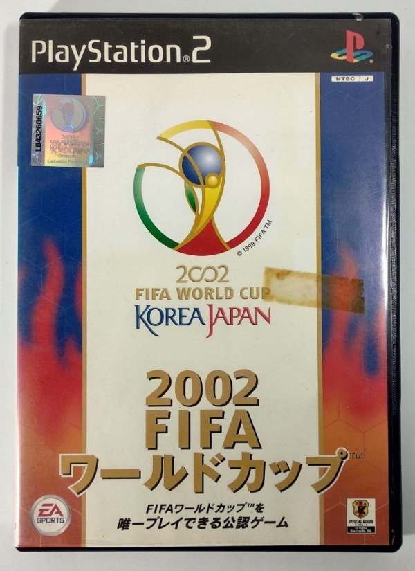Fifa World Cup 2002 Original [JAPONÊS] - PS2