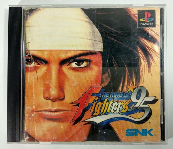 The King of Fighters 95 Original [JAPONÊS] - PS1 ONE