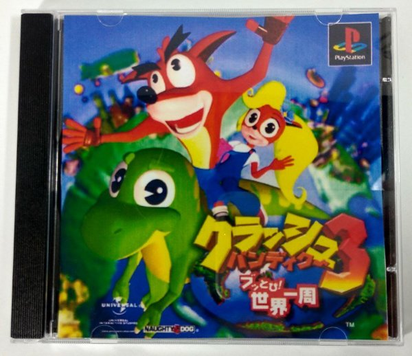 Crash Bandicoot 3 Original [JAPONÊS] - PS1 ONE