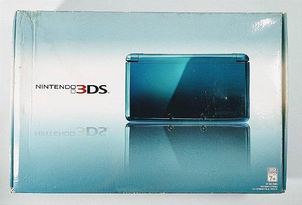 Nintendo 3DS Aqua Blue (LACRADO) - 3DS