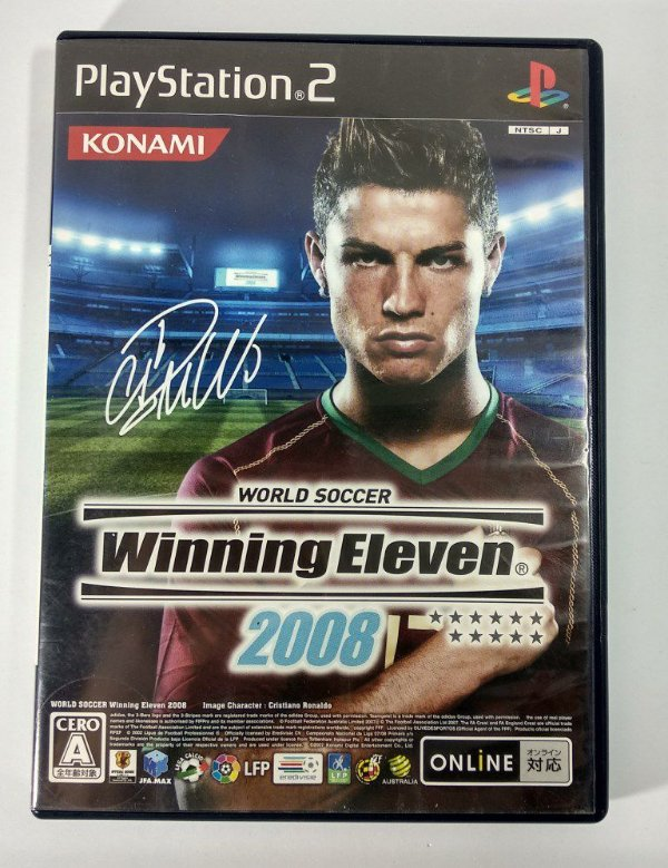 Winning Eleven 2008 Original [JAPONÊS] - PS2