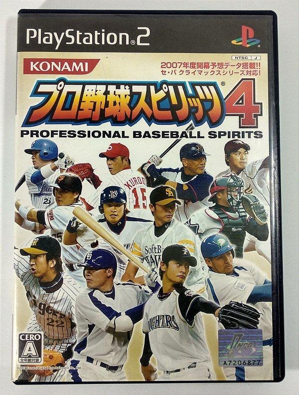 Pro Yakyuu Spirits 4 Original [JAPONÊS] - PS2