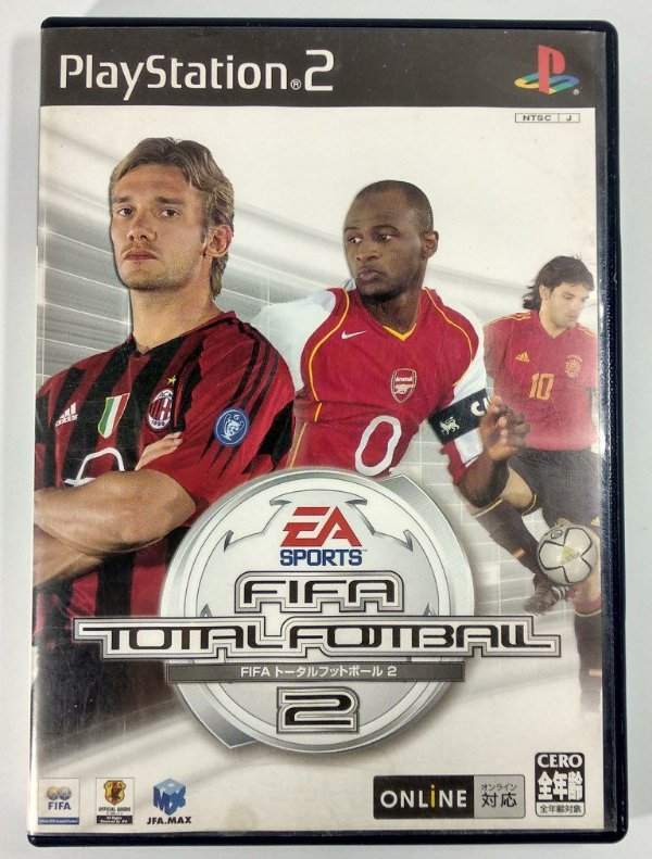 Fifa Total Fotball 2 Original [JAPONÊS] - PS2