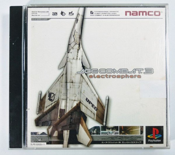 Ace Combat 3 Original [JAPONÊS] - PS1 ONE