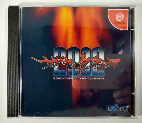 Psychic Force 2012 Original [JAPONÊS] - Dreamcast