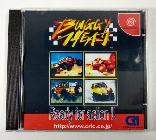 Buggy Heat Original [JAPONÊS] - Dreamcast