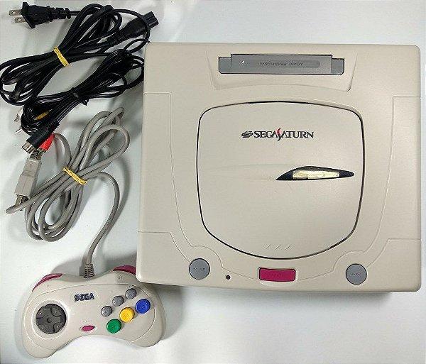Sega Saturn Branco Tectoy