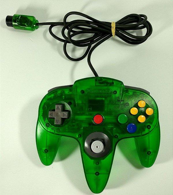 Controle Original Kiwi (verde translúcido) - N64