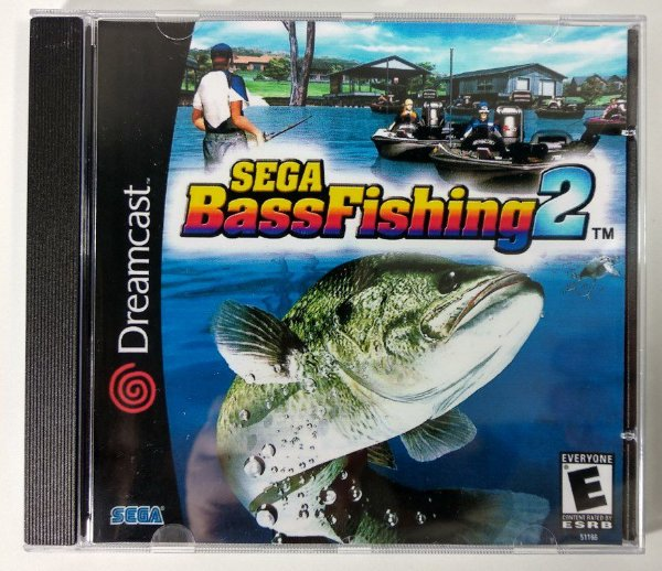 Sega Bass Fishing 2 [REPLICA] - Dreamcast