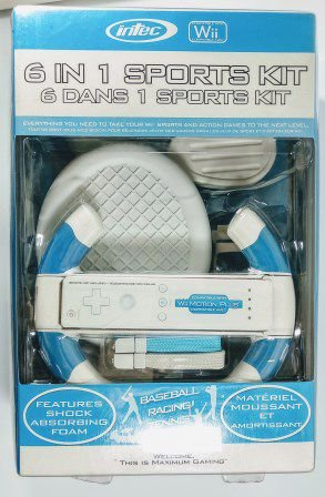 6 in 1 Sports Kit  - Wii