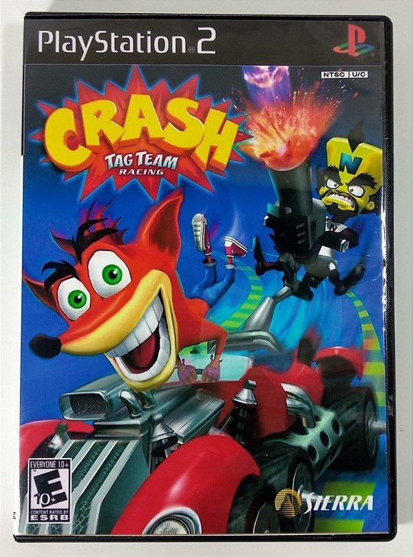 Crash Tag Team Racing - [REPLICA] - PS2