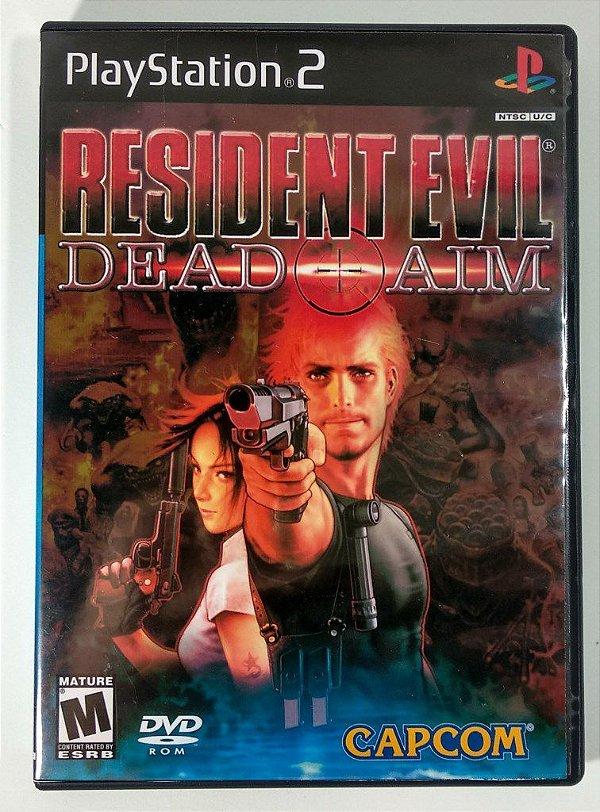 Resident Evil Dead Aim - [REPLICA] - PS2