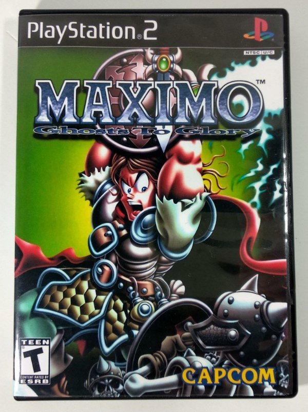 Maximo Ghosts to Glory - [REPLICA] - PS2