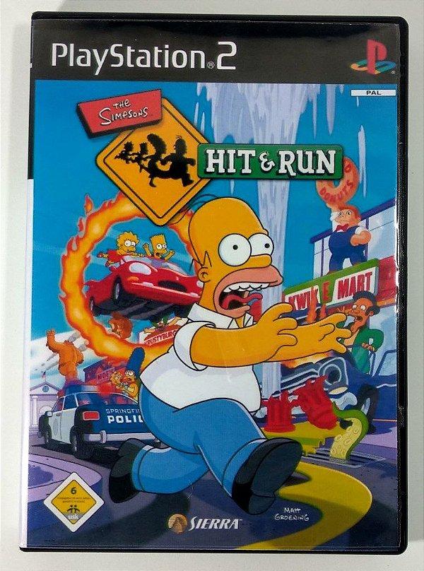 The Simpsons Hit & Run - [REPLICA] - PS2