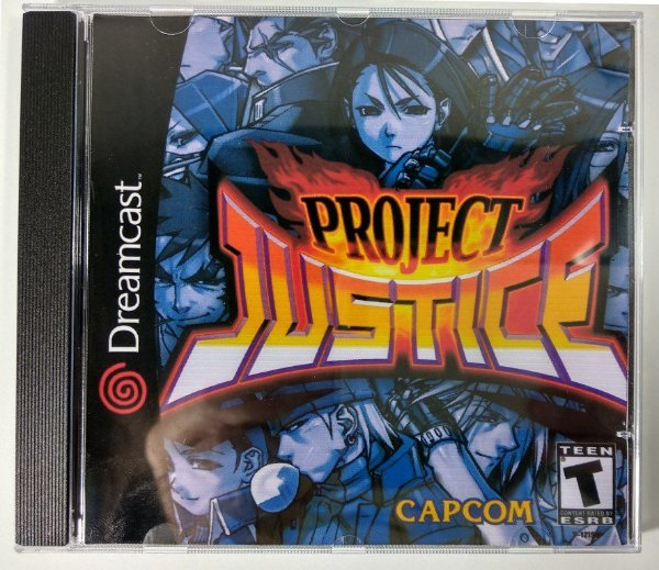Project Justice [REPLICA] - Dreamcast