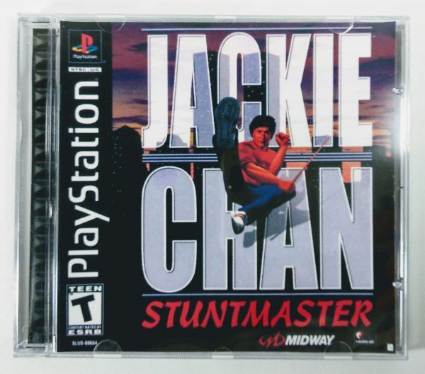 Jackie Chan Stuntmaster [REPLICA] - PS1 ONE