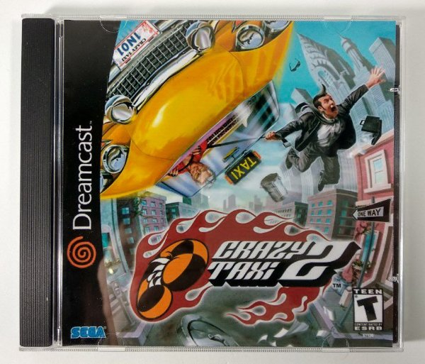 Crazy taxi 2 [REPLICA] - Dreamcast