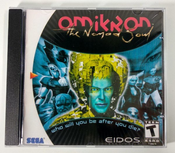 Omikron the Nomad Soul [REPLICA] - Dreamcast
