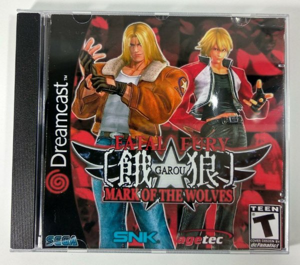 Fatal Fury Mark of the Wolves [REPLICA] - Dreamcast