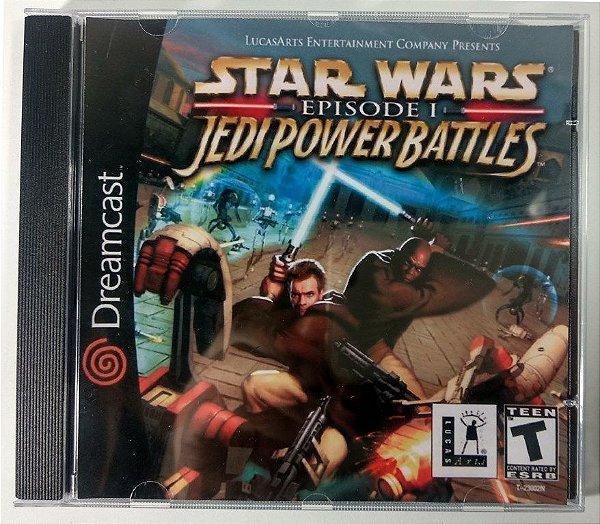 Star Wars Jedi Power Battles [REPLICA] - Dreamcast