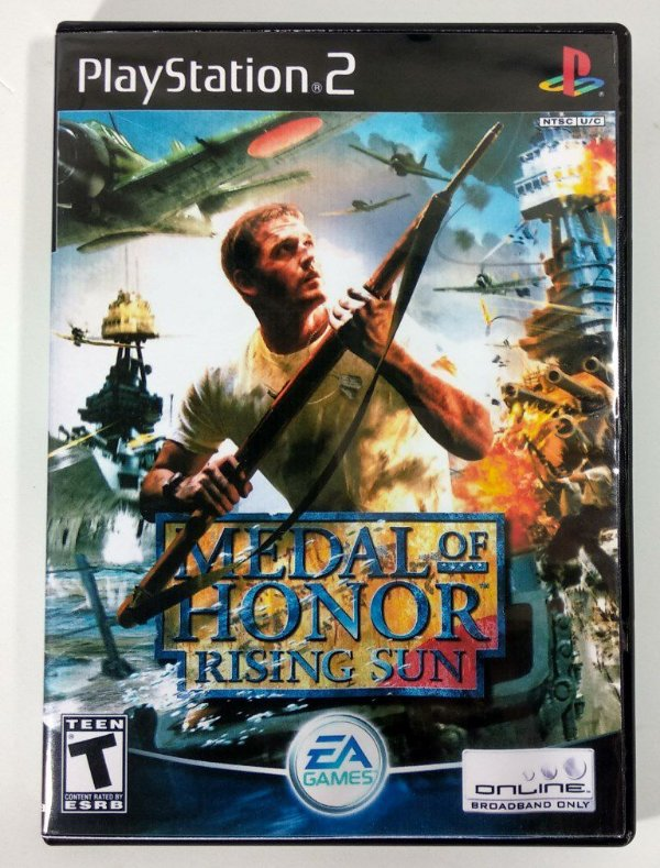 Medal of Honor Rising Sun [REPLICA] - PS2