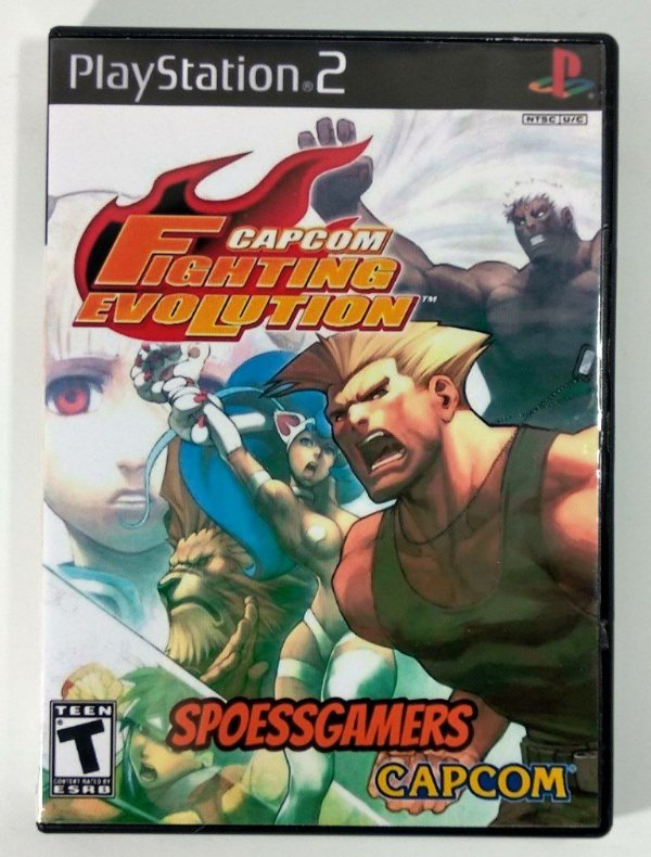 Capcom Fighting Evolution [REPLICA] - PS2