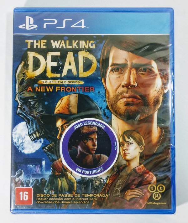 The Walking Dead a New Frontier (lacrado) - PS4