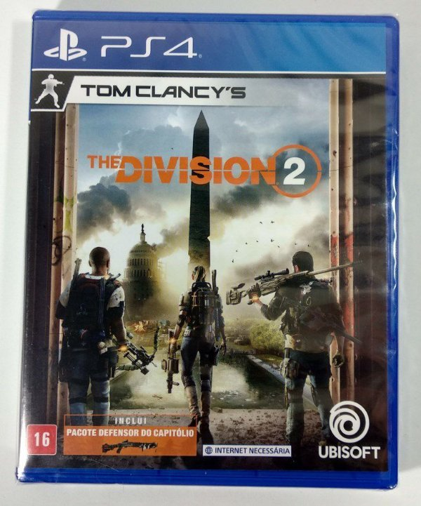 Jogo Tom Clancys The Division 2 (lacrado) - PS4