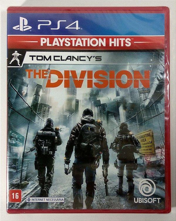 Jogo Tom Clancys The Division (lacrado) - PS4