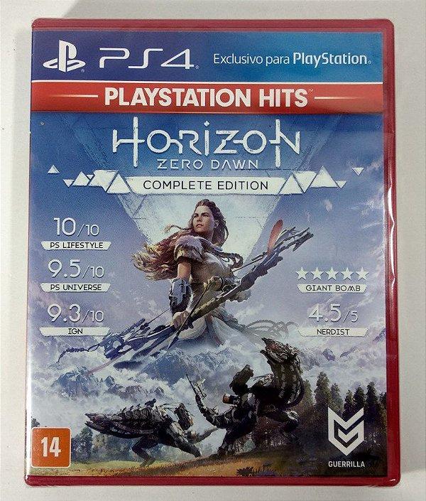 Horizon Zero Dawn Complete Edition (lacrado) - PS4