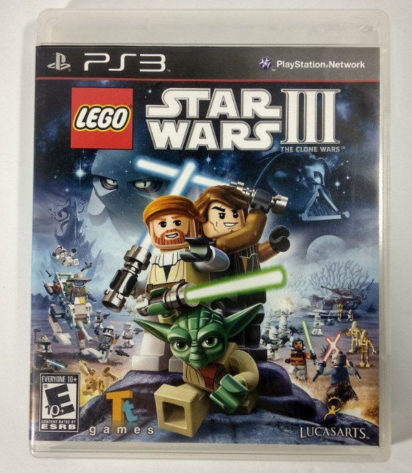 Lego Star Wars III - PS3
