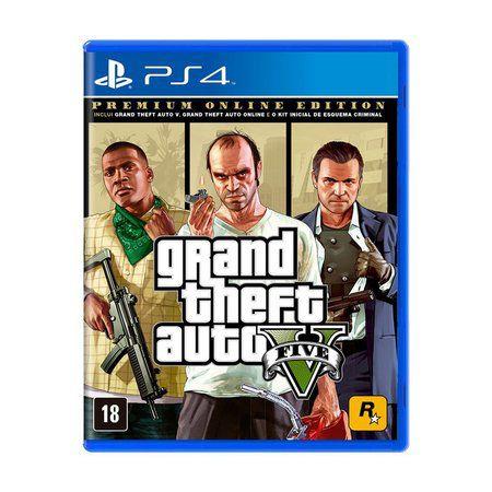 GTA V Premium Edition (lacrado) - PS4