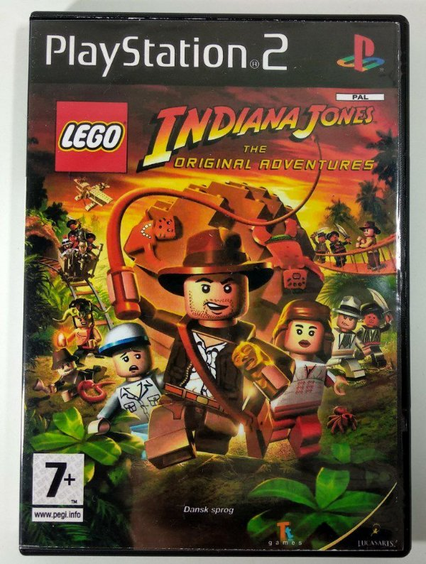 Lego Indiana Jones [REPLICA] - PS2