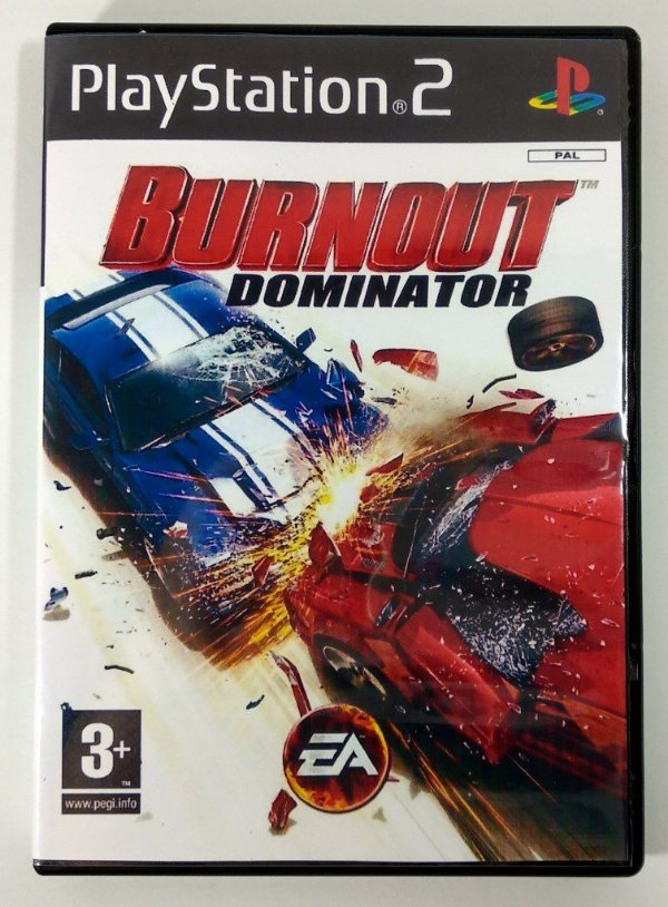 Burnout Dominator [REPLICA] - PS2