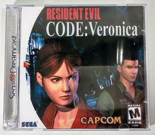Resident Evil Code: Veronica [REPLICA] - Dreamcast