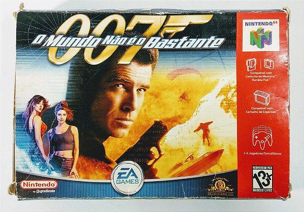007 O Mundo não é o bastante Original - N64