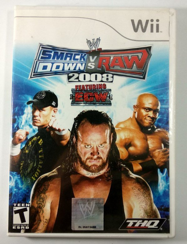 Smack Down Vs Raw 2008 - Wii