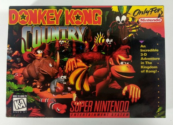 Donkey Kong Country - SNES