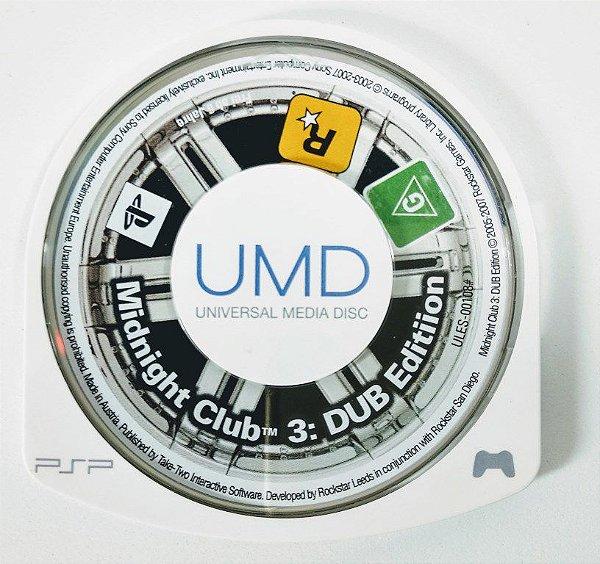 Midnight Club 3: Dub Edition Original - PSP