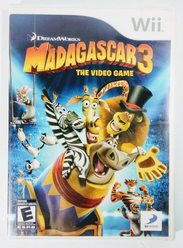 Madagascar 3 the video game - Wii