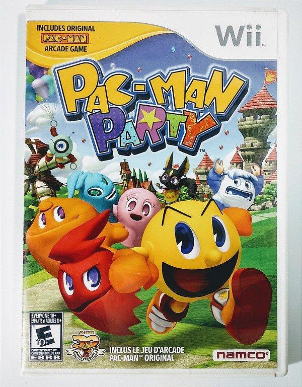 Jogo Pac-man Party - Wii