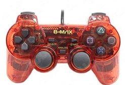 Controle transparente (Vermelho) - PS1 ONE/ PS2