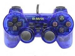 Controle transparente (Azul) - PS1 ONE/ PS2