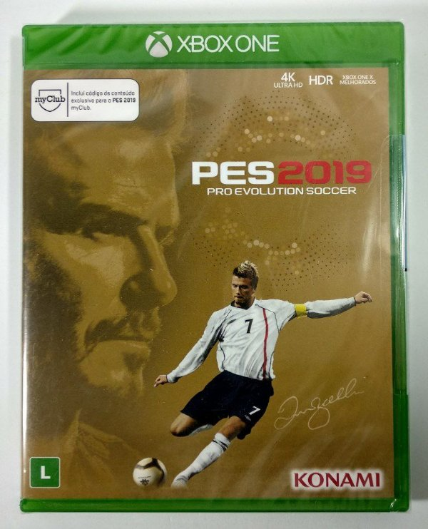 PES 2019 David Beckham edition - Xbox One