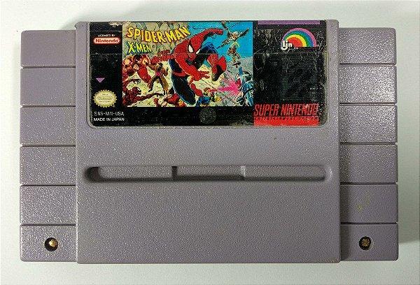 Spider-man X-men Arcades Revenge Original - SNES